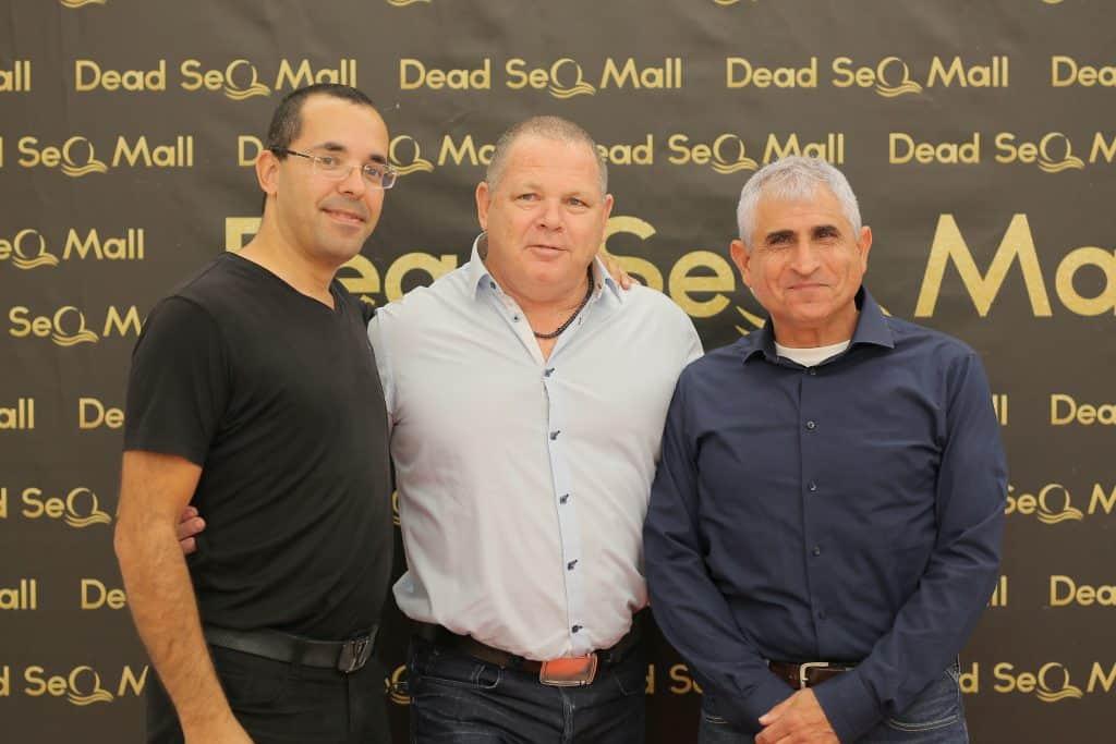רונן מרדכי גרין עם שימי דניאל ודב לטבינוף