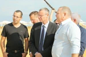 רונן מרדכי גרין עם שר התיירות