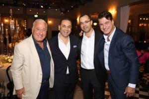 ארז חבר, רונן מרדכי (מוטי) גרין, אבי חורמרו וג'ו נקש (מימין לשמאל)